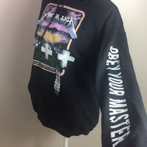 Metallica Master of Puppets Official Hoodie Sweat NWT